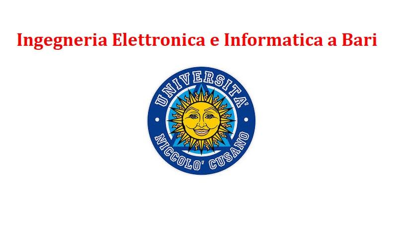 Ingegneria Elettronica e Informatica a Bari