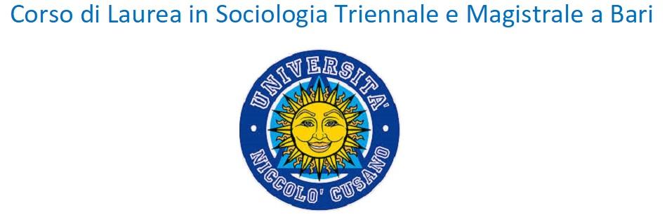 Corso di Laurea In Sociologia a Bari
