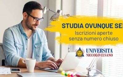 Unicusano Pagani: iscrizioni aperte per l'Anno Accademico 2019/2020!