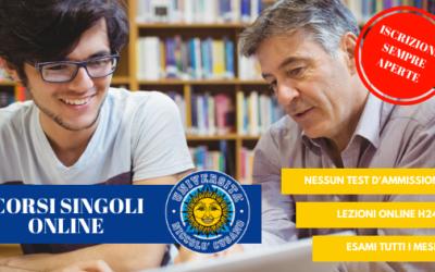 Corsi singoli online: come iscriversi con Unicusano Pagani
