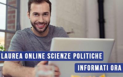 Laurea in Scienze Politiche: costruisci il tuo futuro con Unicusano!